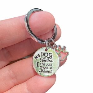 Spoiled Dog Keychain